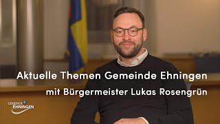 Gemeinde Ehningen | Digitale Bürgersprechstunde - Interview mit Bürgermeister Rosengrün (22.12.2020)