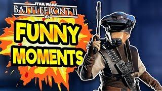Star Wars Battlefront 2 Funny & Random Moments [FUNTAGE] #40