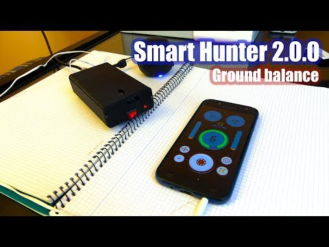 Smart Hunter - Homemade VLF metal detector  | N E C O