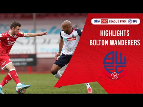 Crawley Town Bolton Goals And Highlights