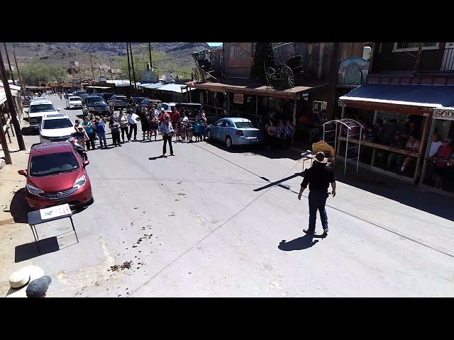 Bank Heist Oatman Arizona