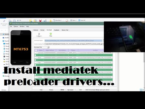 How to Install MTK USB preloader (VCOM) drivers | Windows 10, 8.1, 8, 7