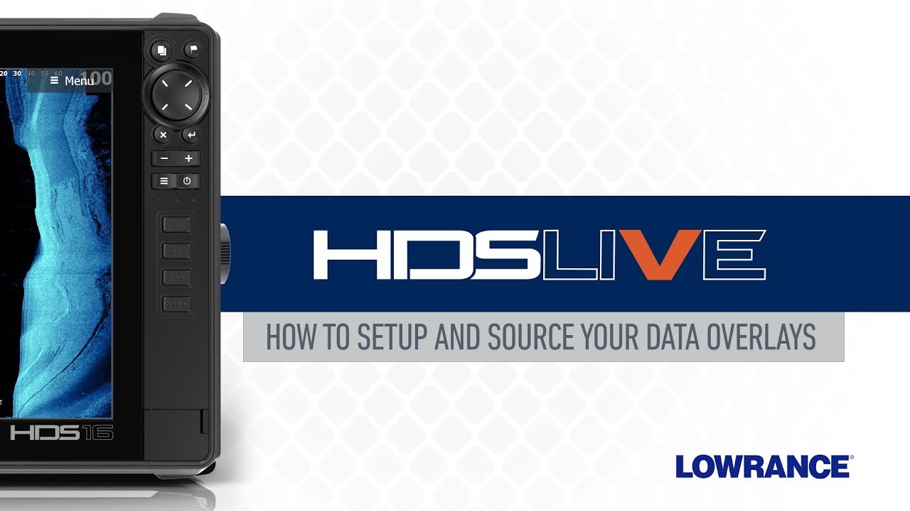 How to Setup and Source Your Data Overlays on HDS LIVE | Lowrance