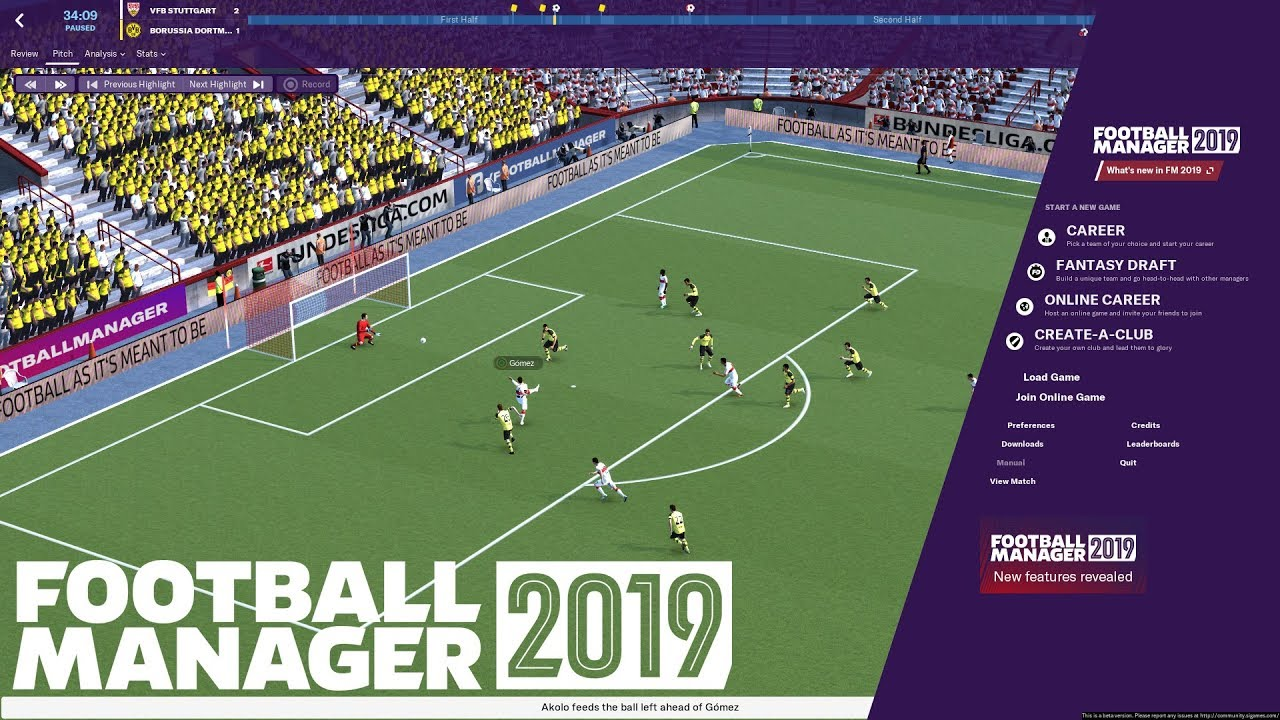 Football Manager 2019 First Impressions 3d Match Engine Gameplay New Training Tactics More