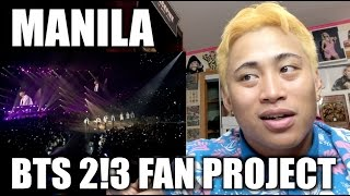 Video BTS WINGS TOUR IN MANILA (2!3 FAN PROJECT) ARMY SQUAD #BTSBBMAs download MP3, 3GP, MP4, WEBM, AVI, FLV Mei 2018