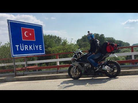 Sila Yolu 2015 BMW S1000RR Motorla Türkiye Kıza Versionu - Mit Motorrad in die Türkei Kurz Version