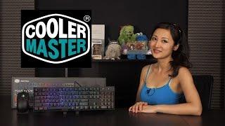 Cooler Master MasterKeys Lite L RGB Keyboard/Mouse Combo: Overview + Lighting Tutorial!