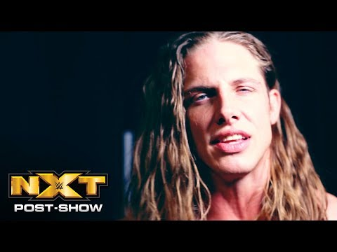 Matt Riddle responds to Kassius Ohno's knockout blow: NXT Post-Show, Dec. 5, 2018