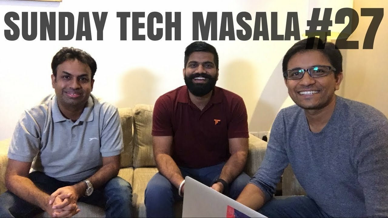 #27 Sunday Tech Masala - Live from Hyderabad #BoloGuruji