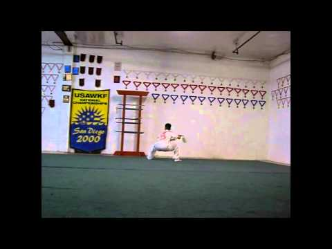 Straight Sword Practice @ Southern California Wushu Academy  Alfred Hsing