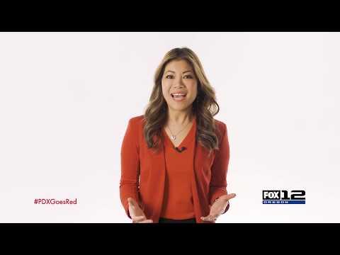 A.J. - February 1st Is Wear Red Day. Fight Heart Disease In Women!