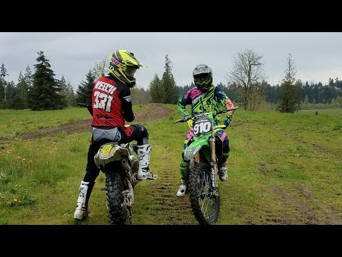 Carson Brown and Tommy Weeck on 125's  MotoSport.com Commercial