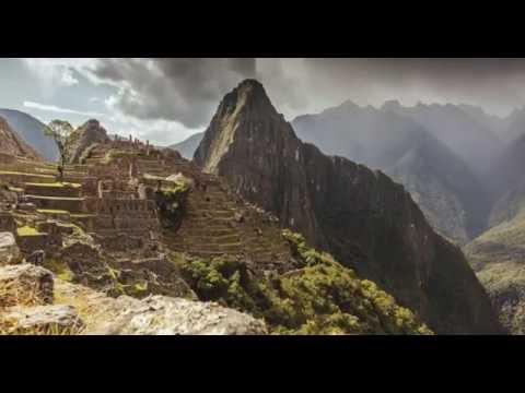 Machu Picchu, Peru Timelapse HD