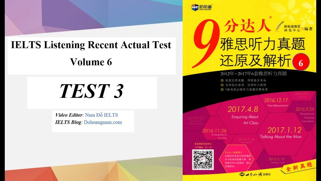 Ielts Listening Recent Actual Tests Pdf