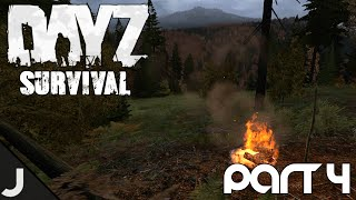 DayZ Hardcore Survival - Part 4 - How To Make A Fire!