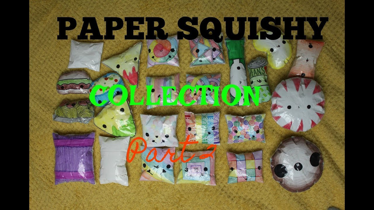 Paper squishy collection part 2 for Squishy ideas