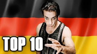 Top 10 GERMAN METAL Bands 🤘