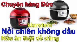 Nồi chiên không dầu Klarstein Turbo 9 lít - Minh Hương - chuyên hàng Đức - 0835191146