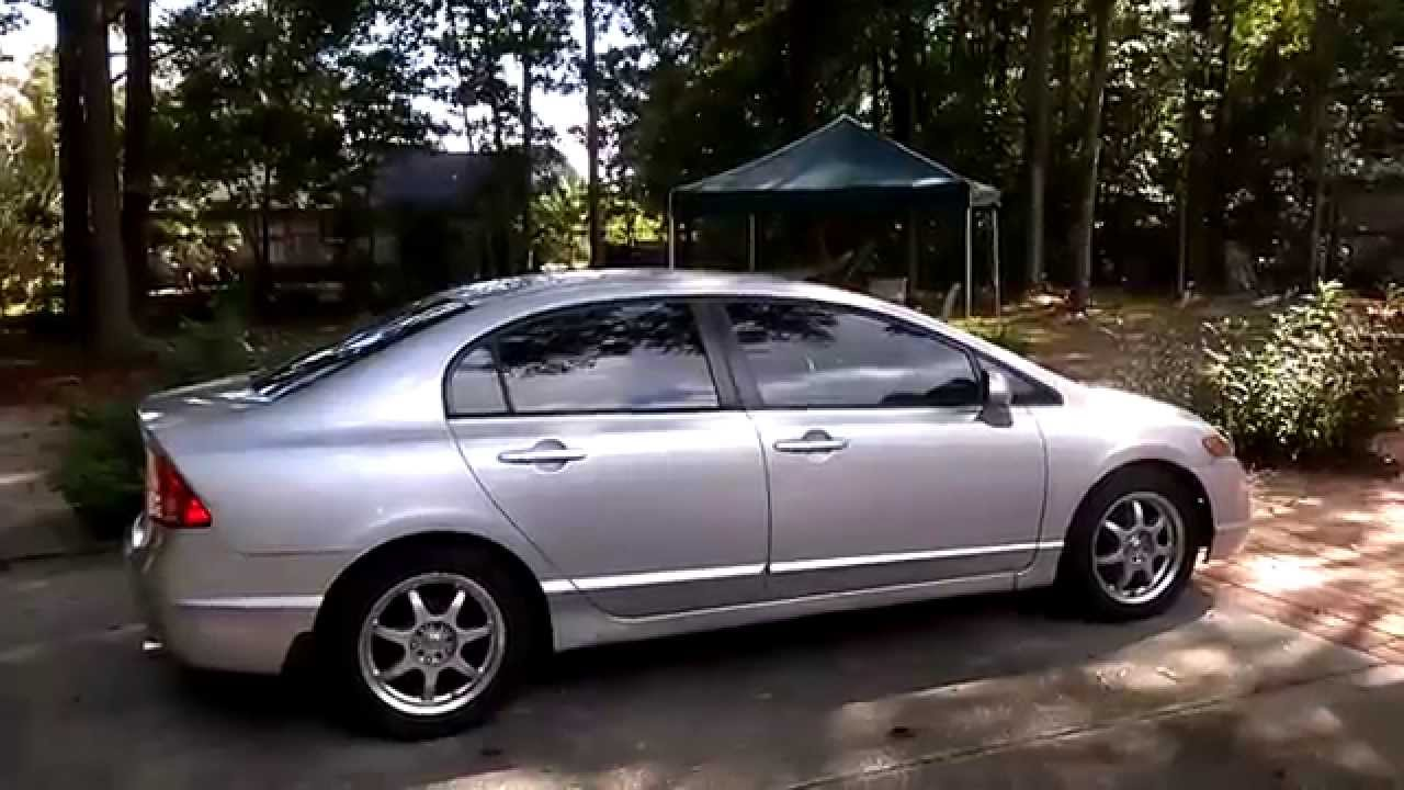 2007 honda civic lx rear speaker upgrade youtube. Black Bedroom Furniture Sets. Home Design Ideas