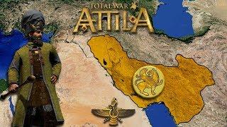 TW: Attila. Империя Сасанидов: Жемчужина Востока #1
