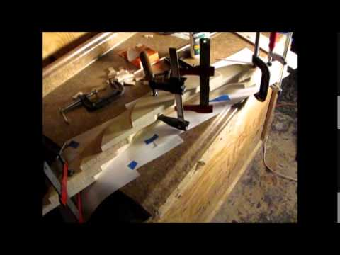 How to carve a wooden model sailboat, part 1
