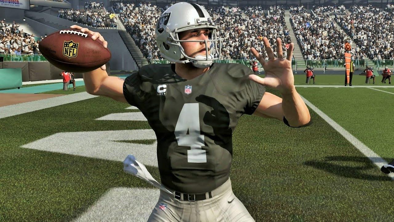 Madden 17 - Raiders Derek Carr Throws 5'TDs In Win Against Colts ...