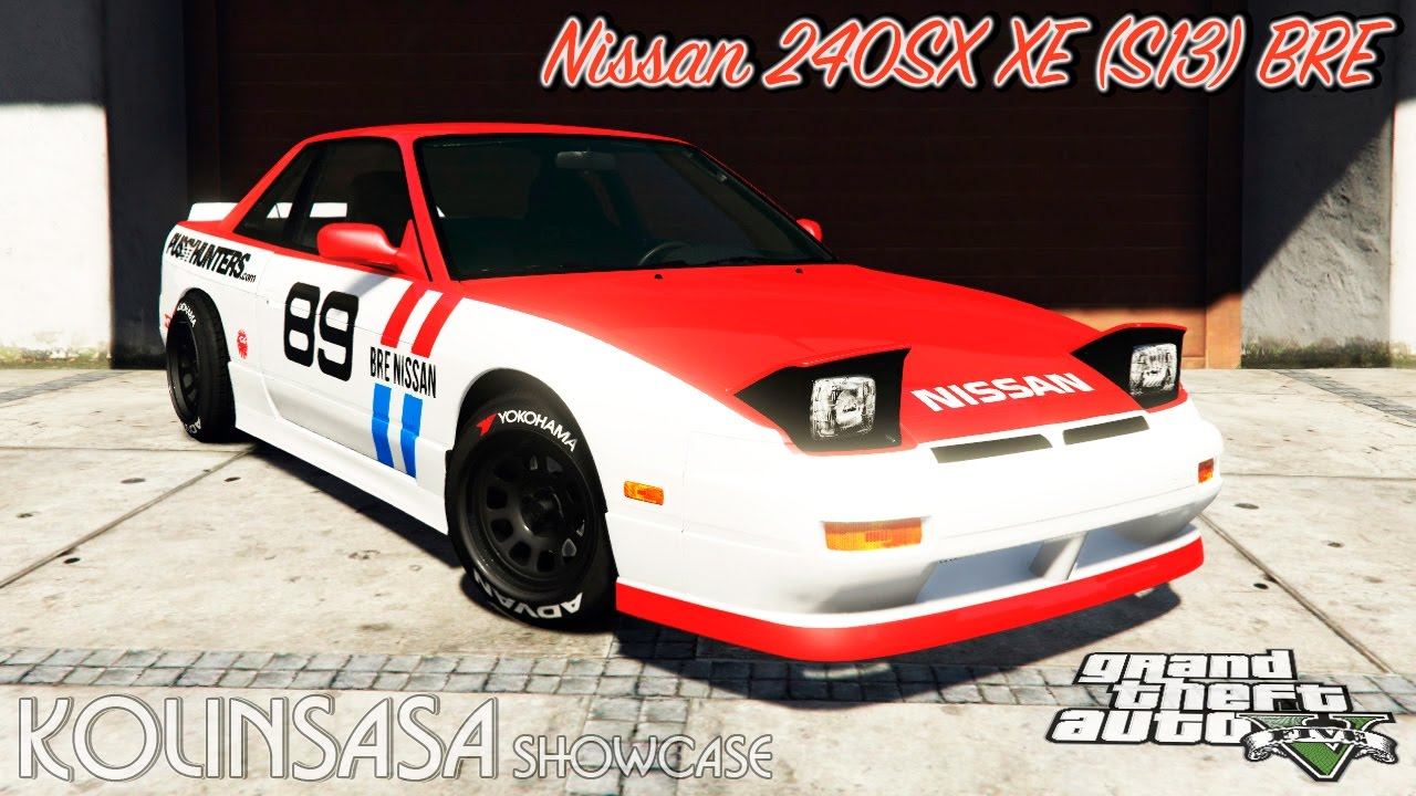Grand Max Modification >> GTA 5 Nissan 240SX XE (S13) BRE - YouTube