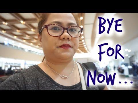 Pinas Vacay 2017: Flight Back Home   Travel Tax    Vlog