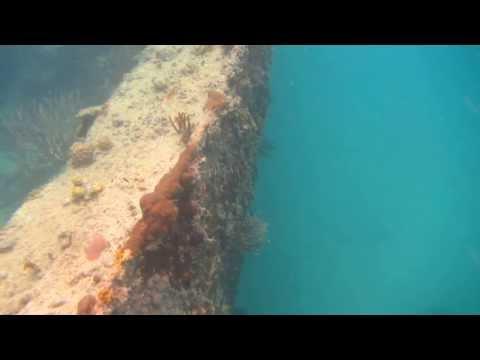 Andes Shipwreck in Antigua, WI