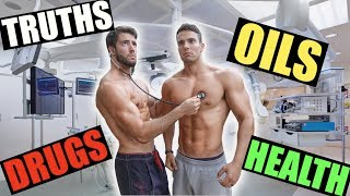 HEALTH & FITNESS Q&A   OIL, MEDICINE, OMEGA 3, DIABETES, FASTING, CARBS at NIGHT