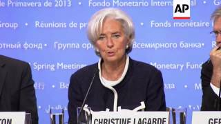 IMF chief and World Bank head on Euro crisis, efforts for global growth