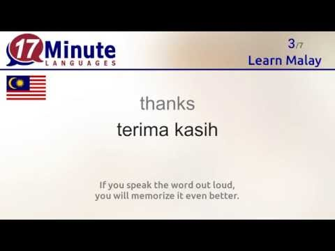 Learn Malay (free language course video)