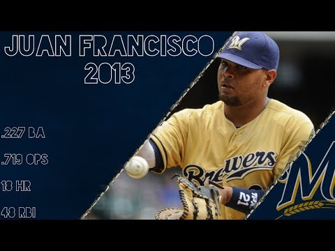 Juan Francisco 2013 Highlights