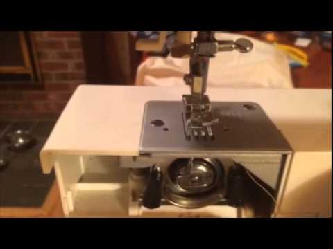 Bobbin Replacement On Singer Simple Sewing Machine YouTube Beauteous How To Thread Bobbin On Singer Simple Sewing Machine