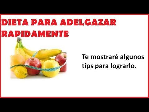 Dietas Saludables para Adelgazar Rapidamente - Dietas para Bajar de Peso Rapido y Seguro sin Rebote