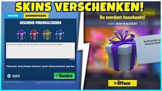 🎁 So you can give skins to your friends! [Tutorial] - Fortnite