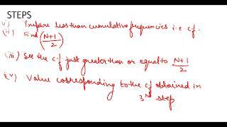 #9, Business Statistics|  Median - Discrete Series