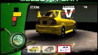 All Default Cars - Sega GT 2002 (Xbox)