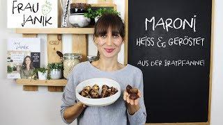 Die maroni aus der bratpfanne passen perfekt zum herbst, schmecken und sehen wie von einem maroni-stand, sind schnell & einfach zubereitet, de...