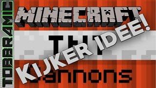 Minecraft TNT cannon Challenge van een kijker   89.1 (Dutch)