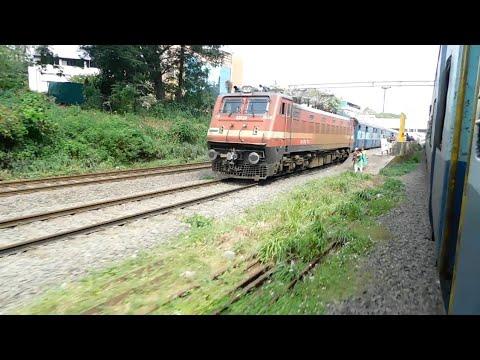 Amritsar Kochuveli skips Tirur at MPS | overtakes Mangala Lakshadweep Super fast express