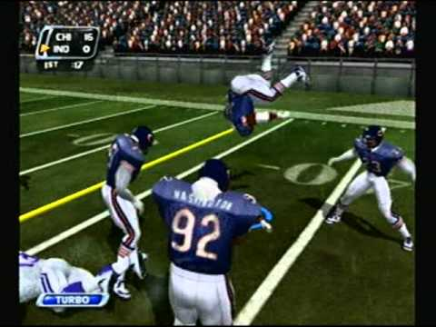 NFL Blitz 2003 - Indianapolis Colts at Chicago Bears (1st Half)