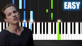 Video Charlie Puth - One Call Away - EASY Piano Tutorial by PlutaX download MP3, 3GP, MP4, WEBM, AVI, FLV Juli 2018