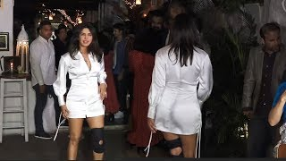 Priyanka chopra very H0T and Stunning looks at The Sky is pink Movie Nyt Party