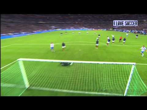 Edin Dzeko fantastic goal vs France 11-10-2011 (HD)
