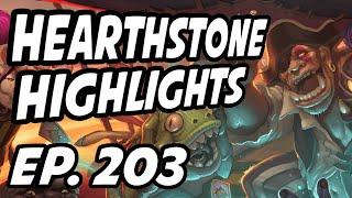 Hearthstone Daily Highlights | Ep. 203 | Zetalot, danehearth, AmazHS, nl_Kripp, Savjz, Slysssa
