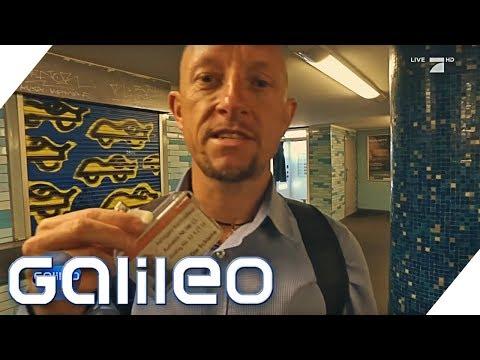 Fahrkartenkontrolle – Akku leer… Ist das Schwarzfahren?   Galileo   ProSieben