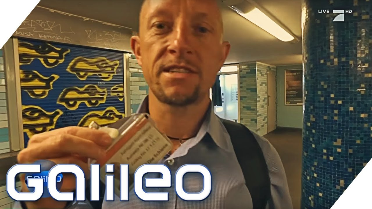 Fahrkartenkontrolle - Akku leer... Ist das Schwarzfahren? | Galileo | ProSieben