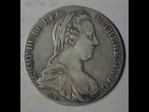Maria Theresa Thaler 1780 Coin