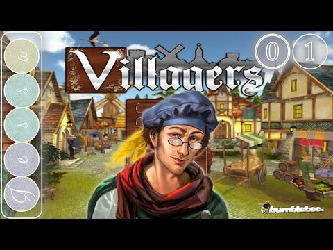 Villagers Let's Play ~ Gameplay ~ The Town of Jessavile ~ Vlllagers Game like Banished ~ Part 1